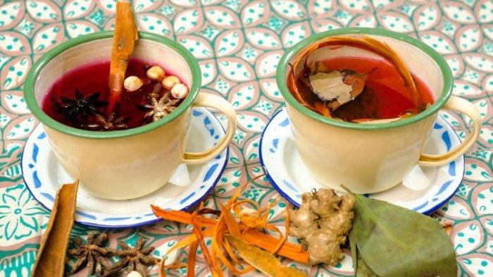 Ilustrasi Wedang minuman khas Indonesia.