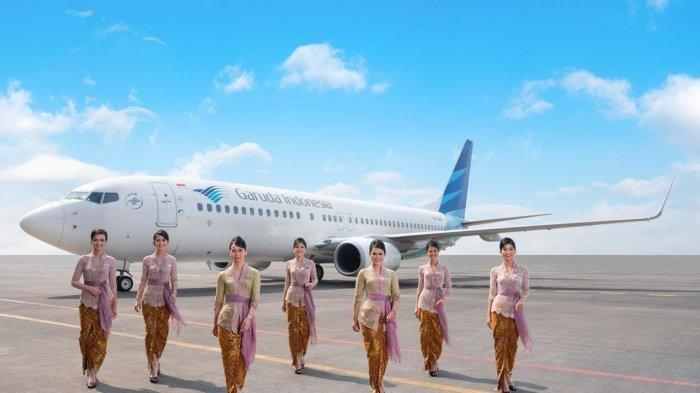 Maskapai nasional Garuda Indonesia.