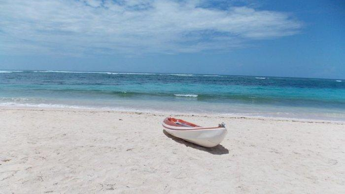 Ilustrasi pantaidi Bali.