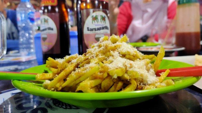 Rujak Mangga Food Court Gunung Roban, Wajib Dicoba!