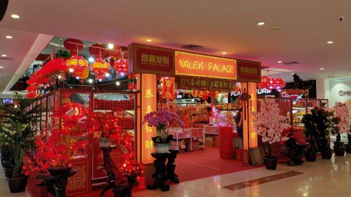 Hadir di Ayani Mega Mall, Imlek Palace Didominasi Warna Merah!