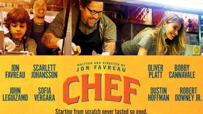 Sinopsis Film Chef, Upaya Koki Raih Kesuksesan Lewat Food Truck