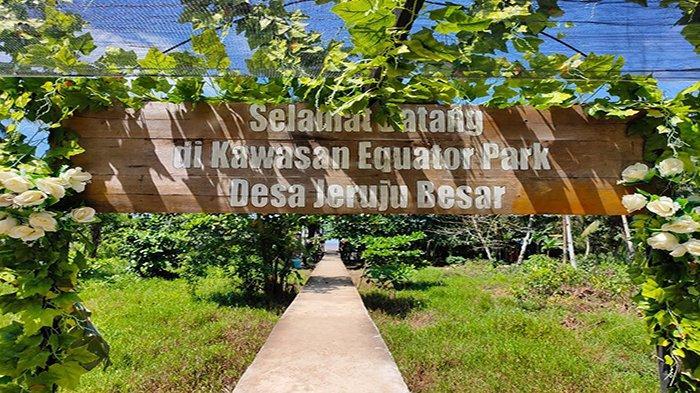 Equator Park Jadi Taman Wisata Bertema Edukasi di Kalimantan Barat