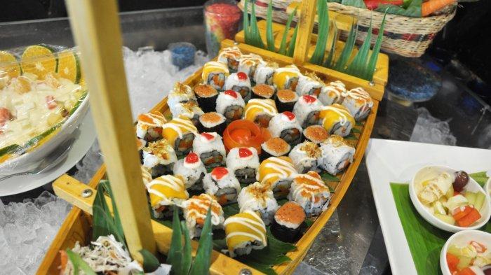 Jajanan pasar menu yang tersedia di Hotel Golden Tulip Pontianak