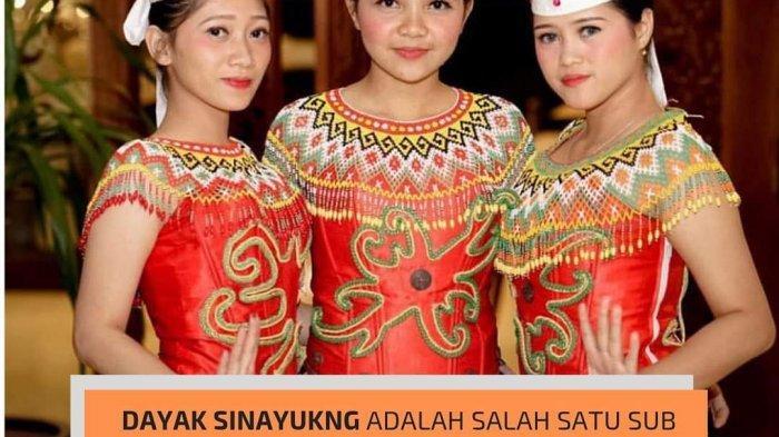 Mengenal Suku Dayak Sinayukng, Sub Suku Dayak Bakati' di Kalimantan Barat