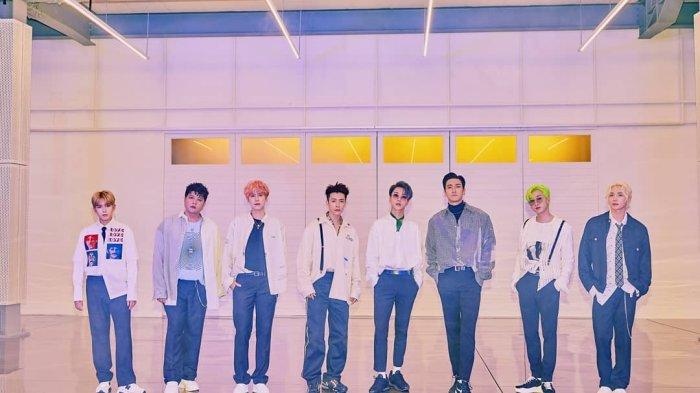 Lirik Lagu Super Junior Super Clap Beserta Terjemahan Bahasa Indonesia, Anggota Suju Tampil Lengkap!