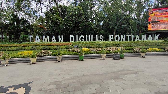 Taman Digulis Jadi Salah Satu Spot Olahraga yang Punya Fasilitas Internet di Pontianak