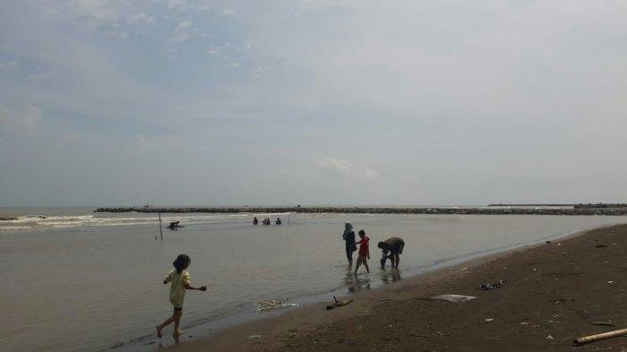 Pantai Larangan Indah Kabupaten Tegal, Suguhkan Hamparan Pantai Luas dan Pohon Cemara