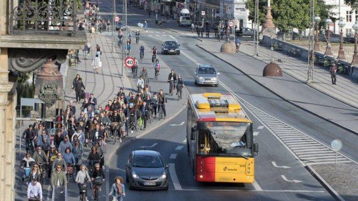 Bersepeda Menjadi Kini Menjadi Tren, Intip Kebiasaan Masyarakat Pesepeda di Denmark
