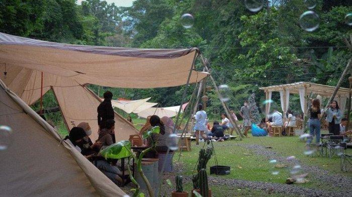 Tempat makan bernama Camp Coffee & Nature di Kota Yogyakarta (dok. Camp Coffee & Nature)