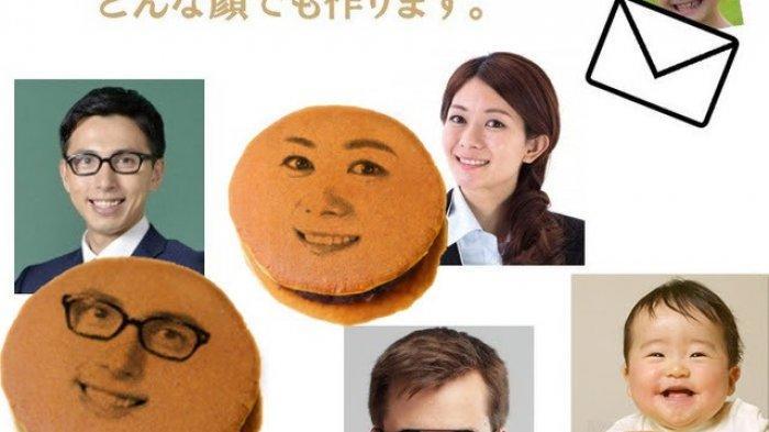 dorayaki wajah Jepang
