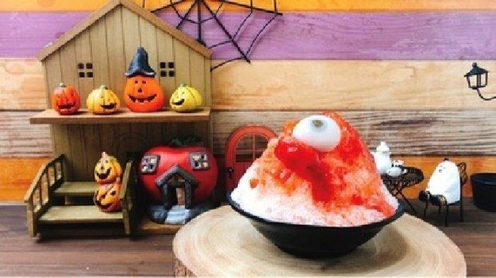 Sambut Halloween, Sebuah Restoran di Jepang Tawarkan Mochi Berbentuk Mata Manusia