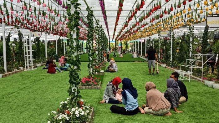 Berkunjung Ke Florawisata San Terra di Malang, Wisata Bunga yang Instagramable