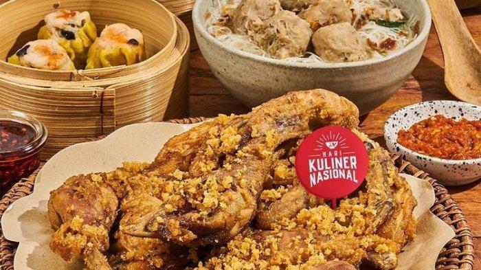 Hari Kuliner Nasional, GoFood Beri Diskon Hingga 70 Persen
