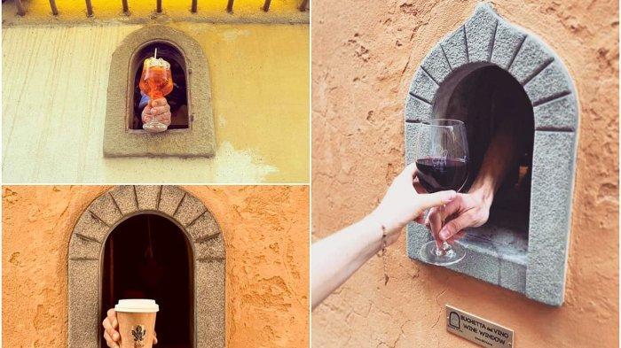 Hindari Penyebaran Corona, Italia Hidupkan Kembali Jendela Anggur dari Abad ke-17