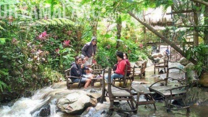 Dongkrak Kunjungan Wisatawan, Coban Jahe di Jabung Malang Kini Tawarkan Konsep Kafe Ketjeh