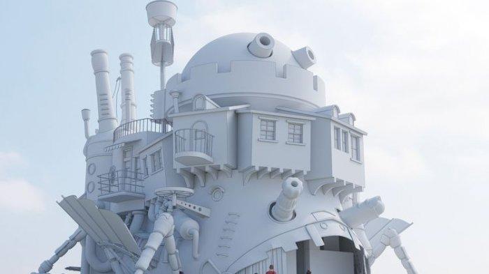 Studio Ghibli Theme Park Akan Hadirkan Replika Howl's Moving Castle, Seperti Apa?