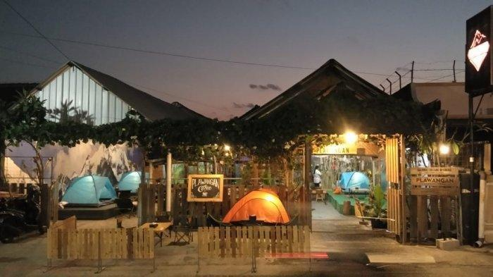 Unik! Cafe di Klaten Ini Tawarkan Sensasi Berkemah di Alam, Dilengkapi Tenda dan Api Unggun