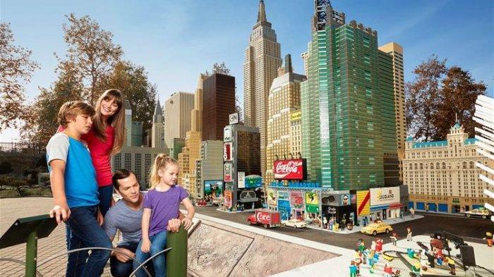 Legoland Terbesar di Dunia Buka Tahun Depan di New York