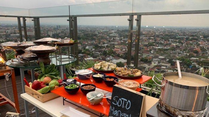 Harris Hotel & Convention Solo Tawarkan Promo  All You Can Eat di Atas Roftop, Harganya Rp 88 Ribu