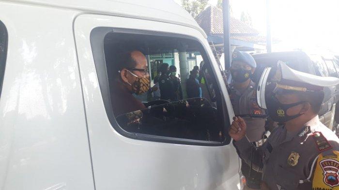 Antisipasi Mudik Lebih Awal, Polres Sragen Gelar Penyekatan di Perbatasan Jawa Timur