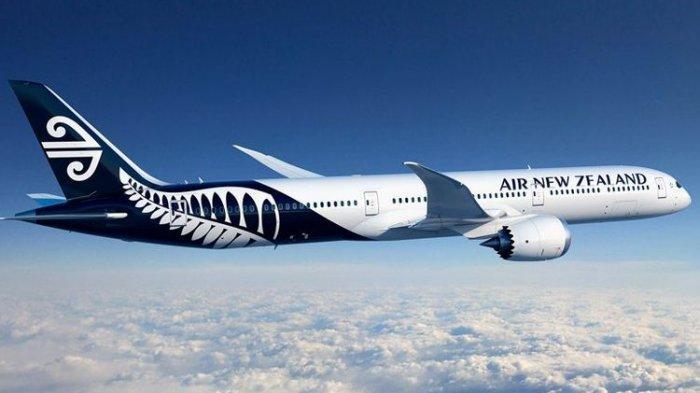 Hanyya Terisi 4 Orang, Penumpang Air New Zealand Ditingkatkan ke Kabin Bisnis