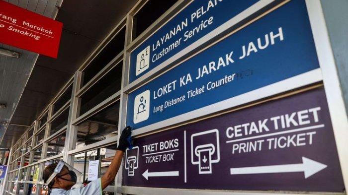 Pemerintah Larangg Mudik Lebaran 2021, PT KAI Wilayah Solo - Yogyakarta Pasrah Ikuti Aturan