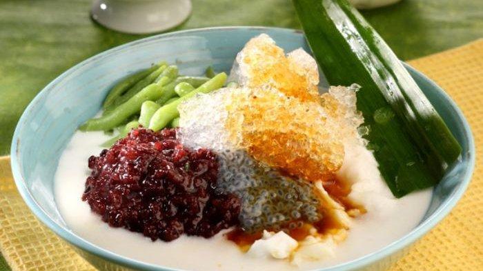 Resep Es Bubur Sumsum Campur, Minuman Spesial Dalam Satu Mangkuk