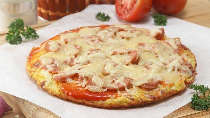 Resep Hashbrown Omelette Enak, Olahan Mirip Pizza Untuk Menu Sarapan