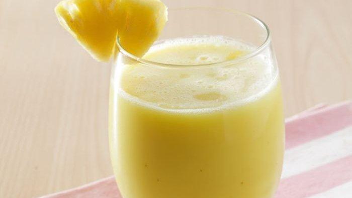 Resep Jus Nanas Yoghurt, Minuman Sehat yang Cocok Diminum Saat Berbuka Puasa