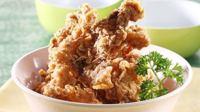 Resep Kulit Ayam Goreng Tepung, Menu Pelengkap Enak Untuk Makan Malam Keluarga Tercinta
