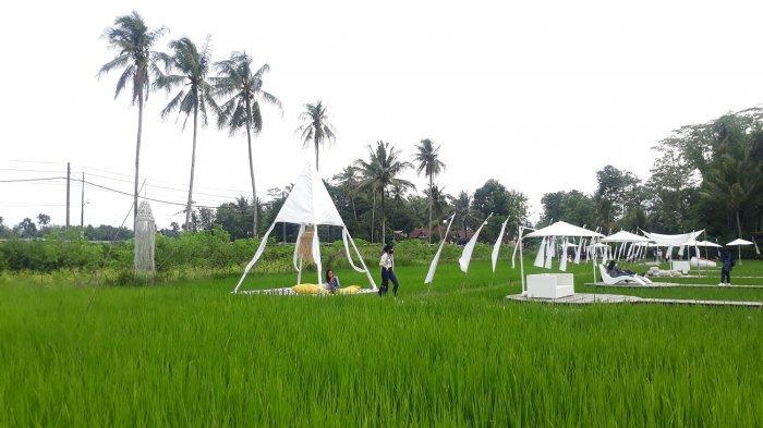 Suasana wisata Svargabumi di Magelang, Jawa Tengah