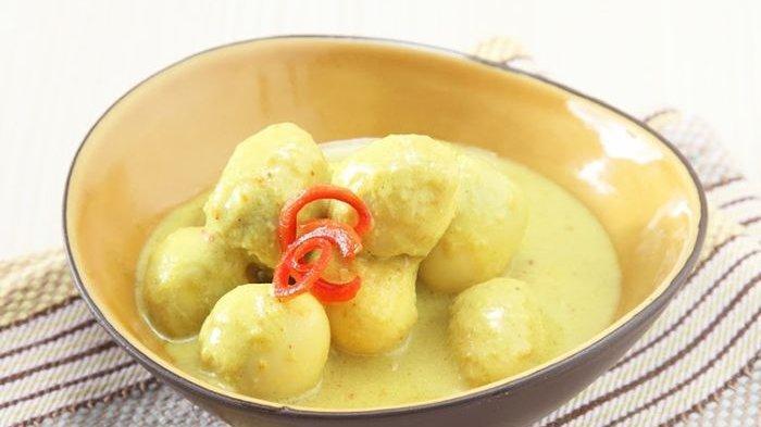 Resep Telur Puyuh Kuah Santan Kuning, Kreasi Spesial Olahan Telur Untuk Makan Siang