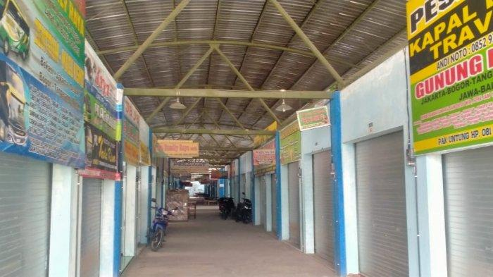 Terminal Tipe B, Penggung Boyolali Sepi Melompong, Bus Jarang Singgah, Penumpang Sedikit, Jum'at (7/5/2021).
