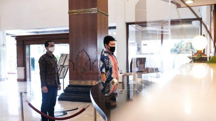 Sambut New Normal, The Sunan Hotel Solo Patuhi Anjuran Jaga Jarak Bagi Tamu