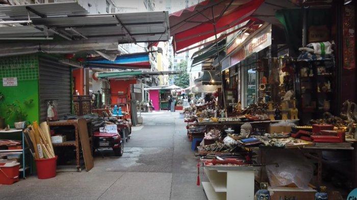 Berburu Barang Antik di Upper Lascar Row di Hong Kong, Wisatawan Bisa Dapat Barang Langka dan Kuno