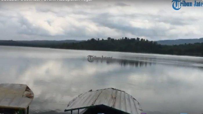Pesona Waduk Cacaban Kabupaten Tegal, Wisatawan Bisa Berkeliling Danau Naik Perahu