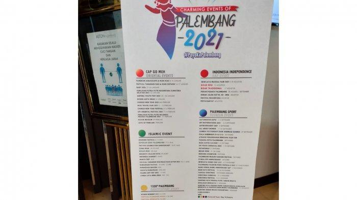 Ini 71 Event Pariwisata di Palembang dalam Calender of Event  2021