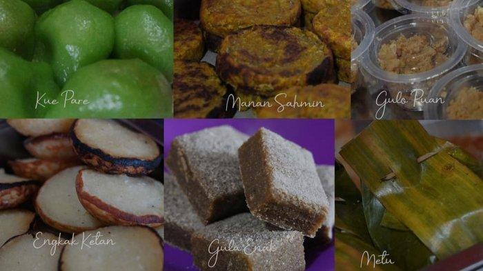 Beragam kuliner khas Sumsel yang ada di Dapur Cinta.