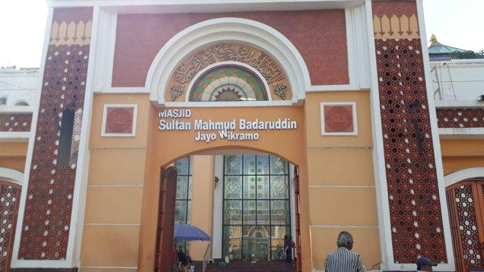 Masjid Agung Palembang atau Masjid Sultan Mahmud Badaruddin Jayo Wikramo