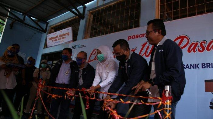 Pasar Soak Bato yang ada di Merdeka, Jalan Soak Bato, kota Palembang menjadi pilot project (proyek percontohan) web Pasar.id.