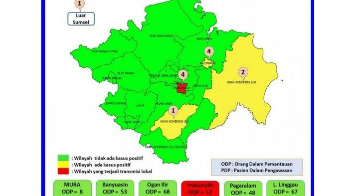 Prabumulih Ditetapkan sebagai Zona Merah Covid-19 di Sumsel
