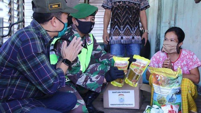 Pemkot Palembang Mulai Salurkan Bantuan Paket Sembako ke Warga Terdampak Covid-19, Ini Rinciannya