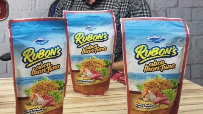 Rubon's Abon Ikan Tuna yang Lezat Disantap dengan Nasi Hangat, Berkualitas Harga Terjangkau