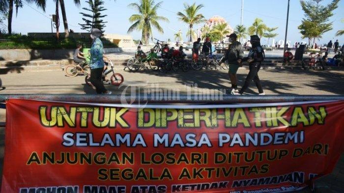 Makassar Belum Bebas Corona, Wisata Pantai Losari Masih Ditutup, Kapan Buka?