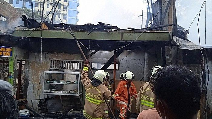 Sepuluh Rumah Tinggal di Karet Tengsin Terbakar, Kerugian Ditaksir Rp 2,8 Miliar
