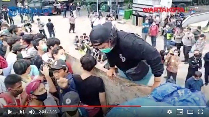 Ada Lima Anak SD Ikut Diamankan Polisi saat Aksi Demo Tolak Omnibus Law