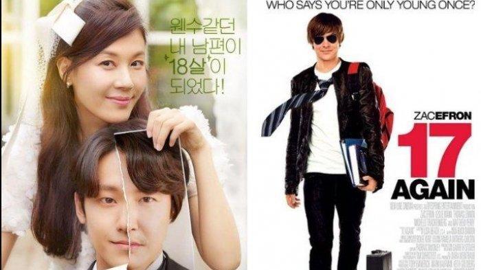 KOLASE drama Korea '18 Again' dan film '17 Again' Drakor tersebut jadi trending pagi ini.