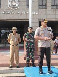 Bantu Pengamanan Natal, Ratusan Satpol PP Jakarta Pusat Disiagakan
