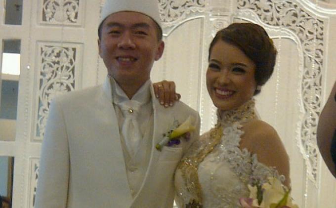 Winda Viska dan Mulyadi Tan.